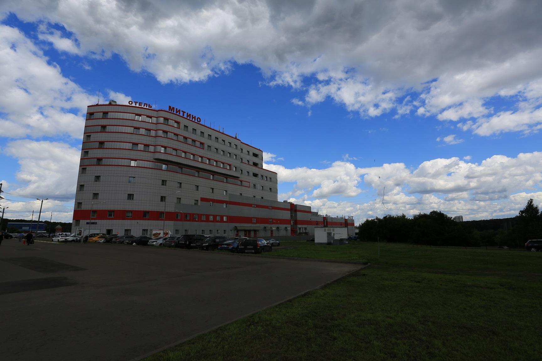 Отель Митино. Внешний вид